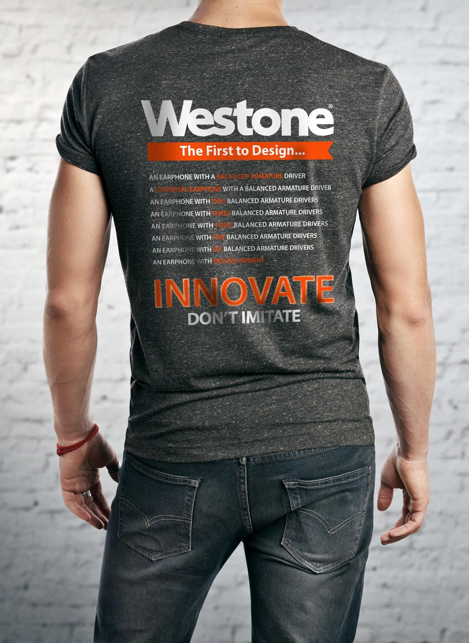 Westone Since 1959 T-Shirt Back