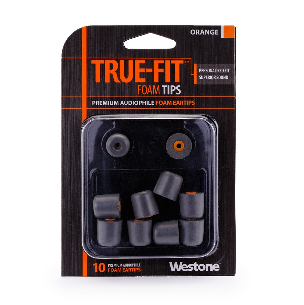 True-Fit Foam Eartips - 15.5mm package