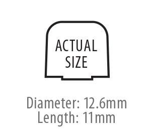 True-Fit Foam Eartips - 12.6mm size