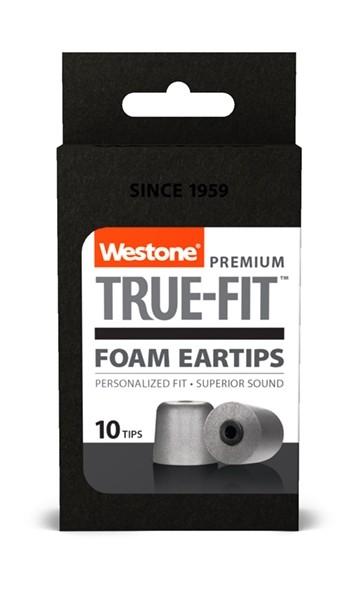 True-Fit Foam Eartips - 12.6mm box front