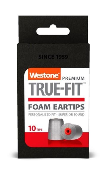 True-Fit Foam Eartips - 15.4mm box front