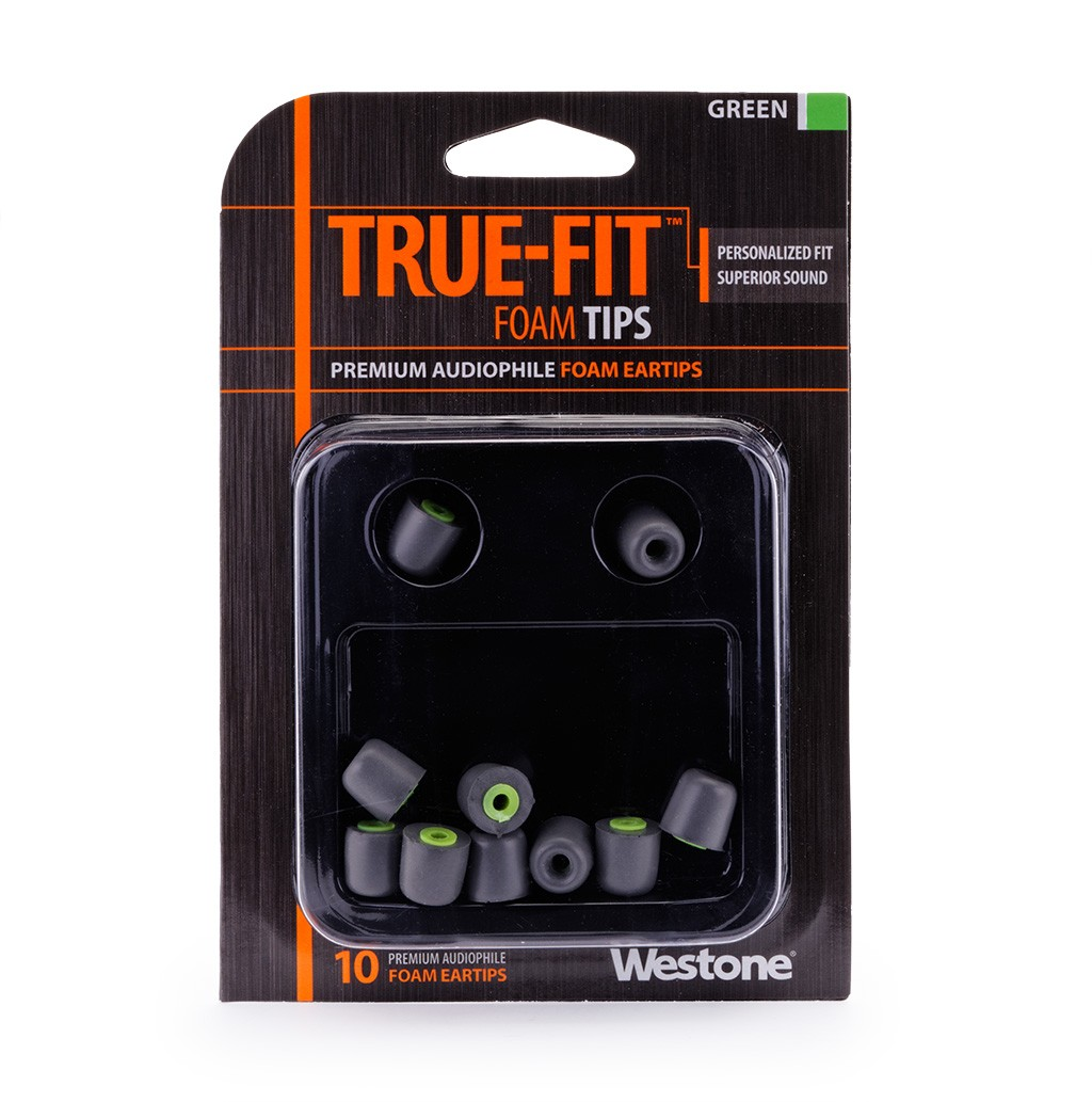 True-Fit Foam Eartips - 11mm package