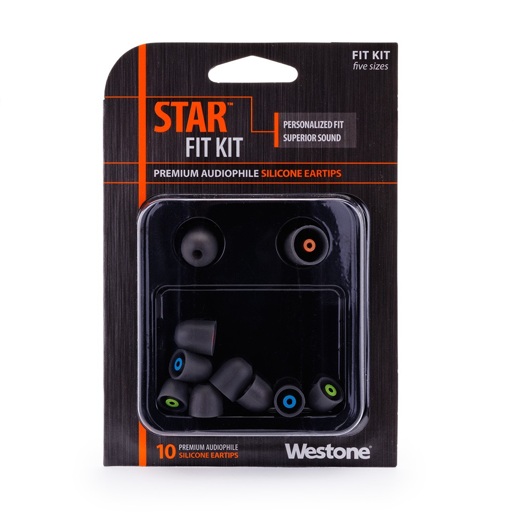 STAR Silicone Tips - Combo Pack package