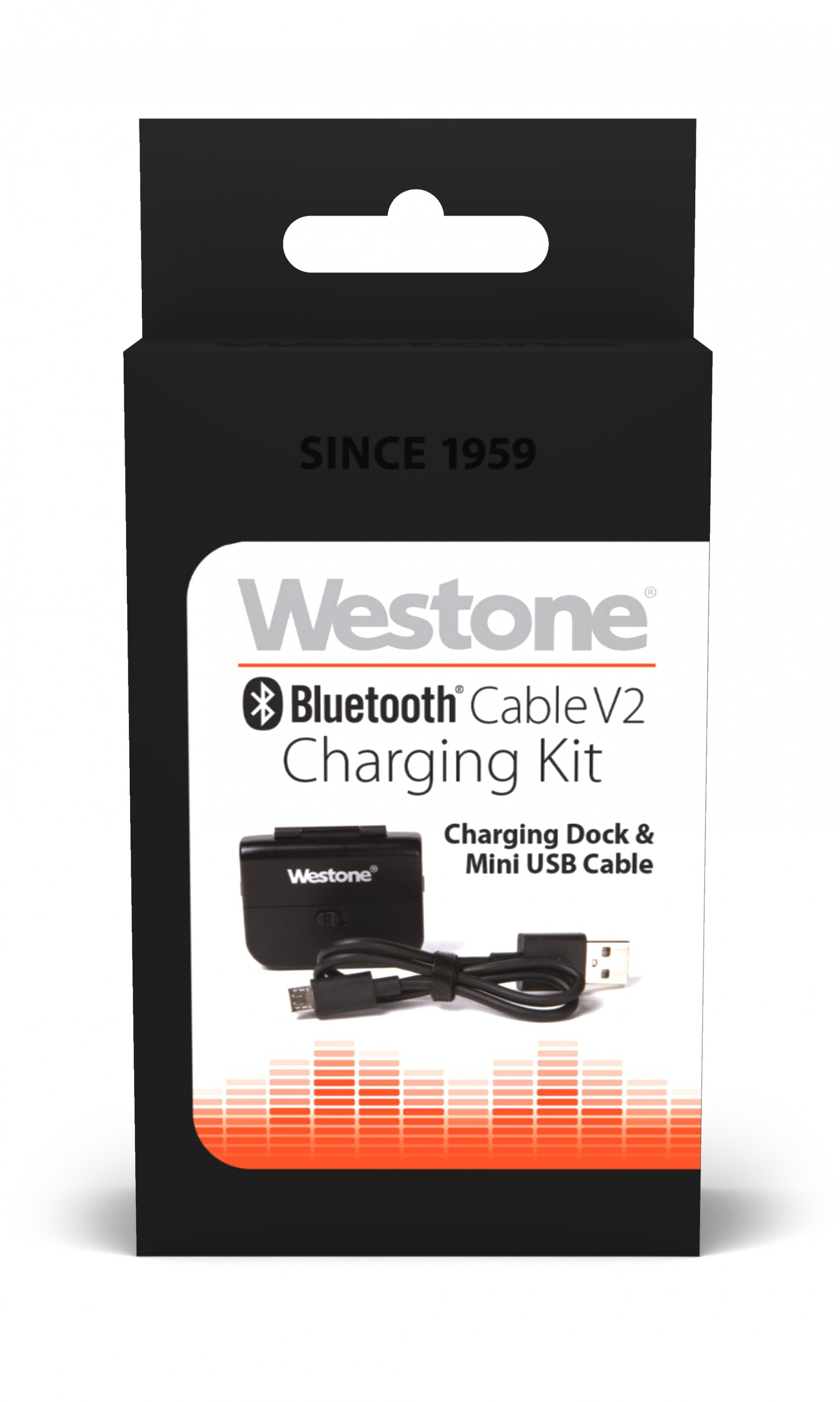 Bluetooth Cable V2 Charging Kit package