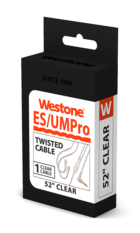 ES/UM Pro Replacement Cable, 52 inches (Clear)