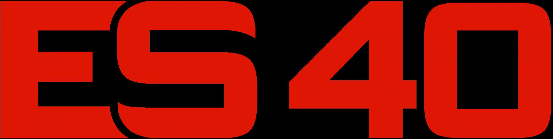 ES40 logo