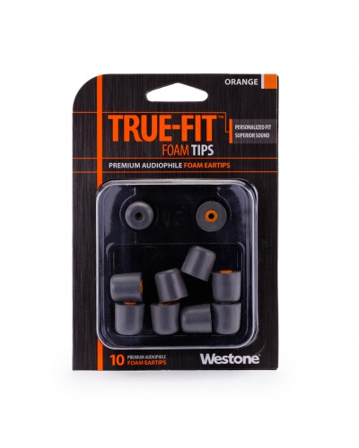 True-Fit Foam Eartips - 15.5mm