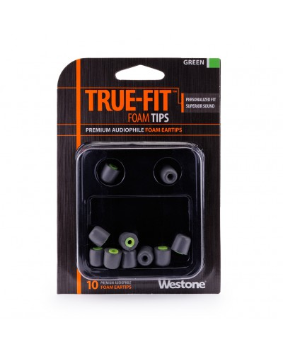 True-Fit Foam Eartips - 11mm
