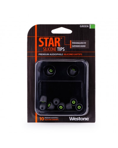 STAR Silicone Eartips - 10mm