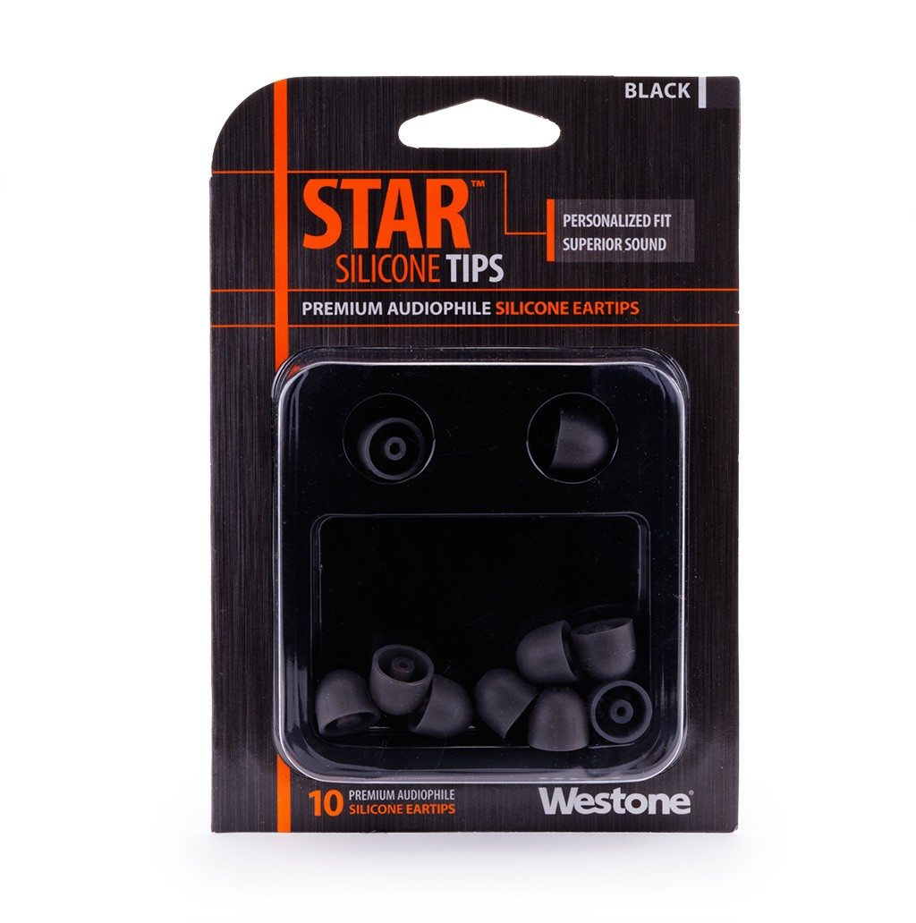 STAR Silicone Eartips - 12mm