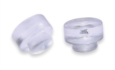 ES49 solid plugs clear