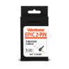 EPIC 2-Pin Replacement Cables - Clear - 64 inches