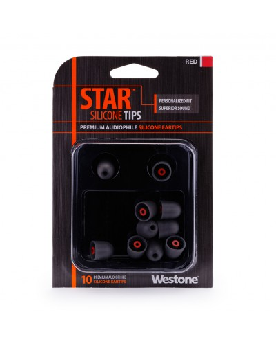 STAR Silicone Eartips - 14mm
