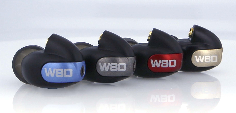 Westone W80 в четырех цветах