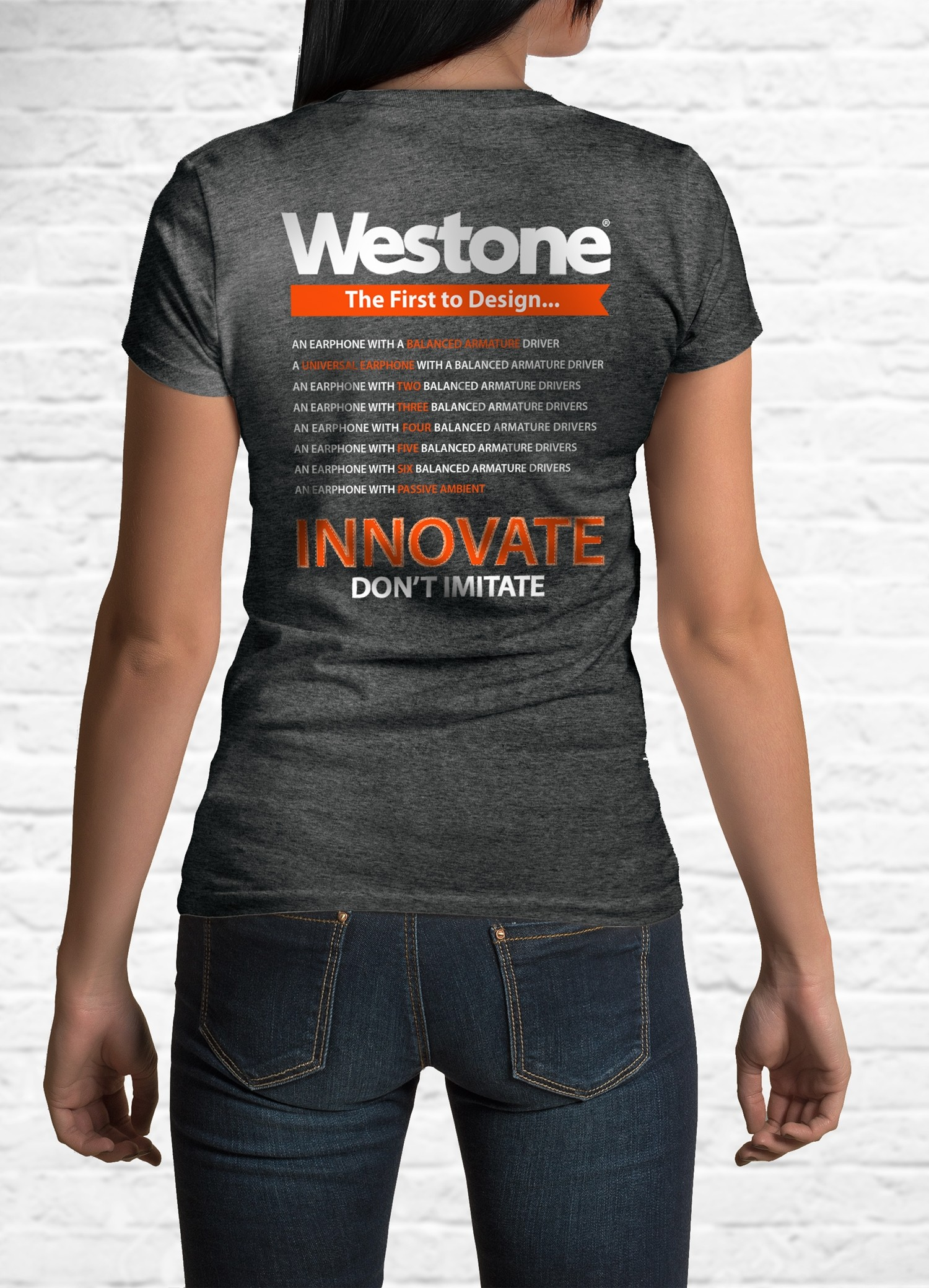 Westone Since 1959 T-Shirt Back