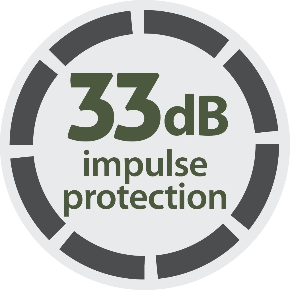 TRU Shooter 33dB Impulse Protection