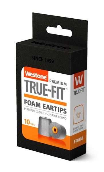 True-Fit Foam Eartip - 15.5mm box side