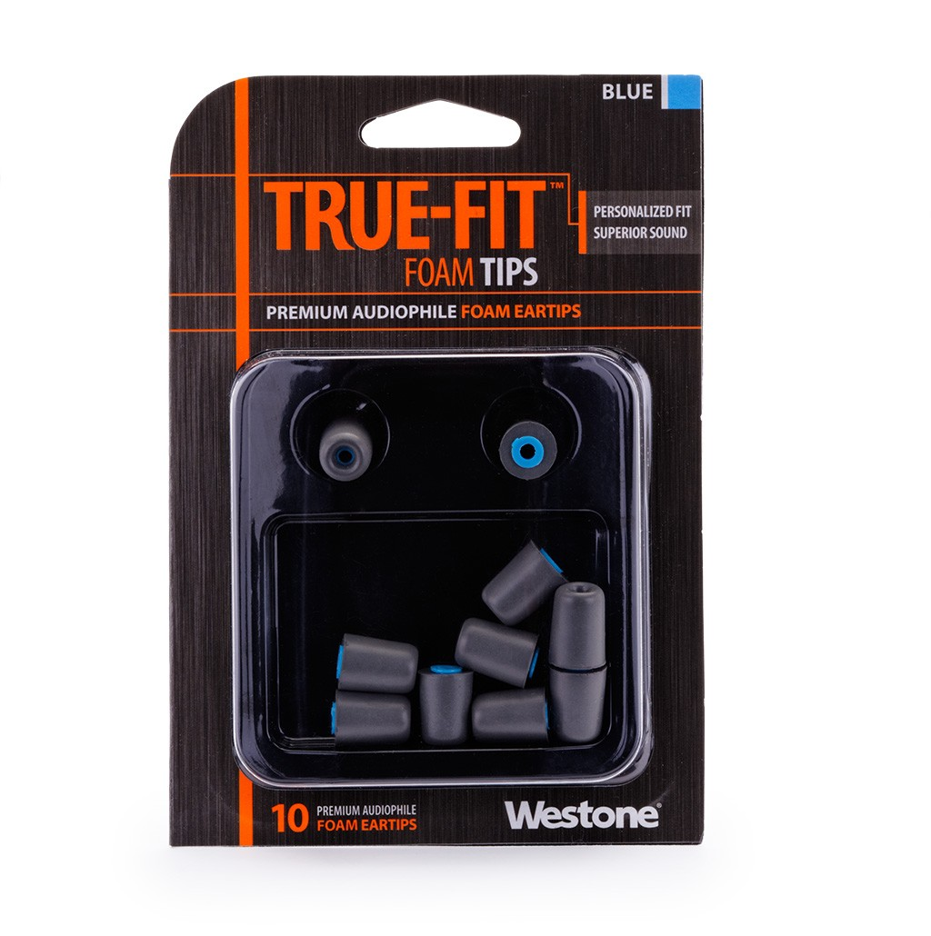 True-Fit Foam Eartips - 14.9mm package