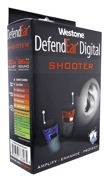 DefendEar Shooter Box Left
