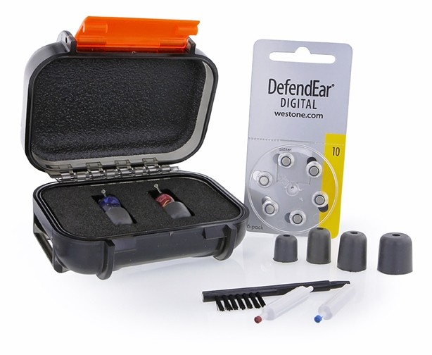 DefendEar Shooter Case Open