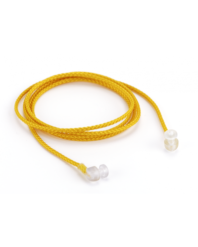 Nylon Cord with Pop Ends, Yellow