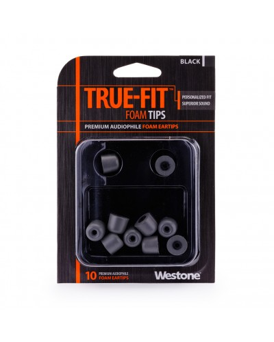 True-Fit Foam Eartips - 12.6mm