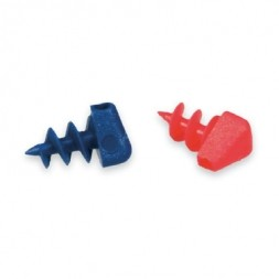 Replacement Cord Screw Ends, Red and Blue, 2-pkg
