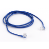 Nylon Cord with Pop Ends, Blue