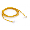 Nylon Cord with Screw Ends, Yellow