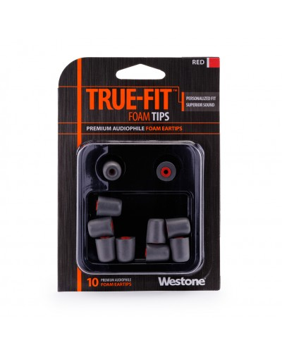 True-Fit Foam Eartips - 15.4mm