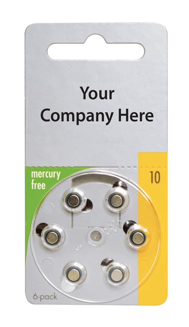 Varta Mercury-Free Private Label