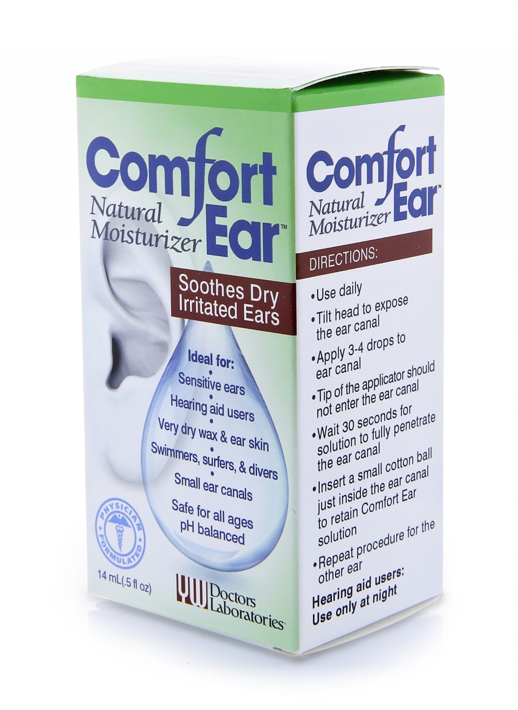 Comfort Earx box front