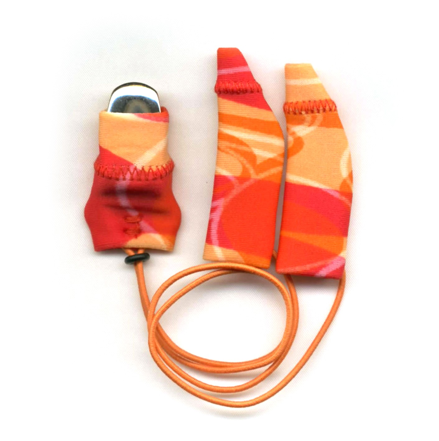 Original, Binaural (dual), with cord, Red/Orange