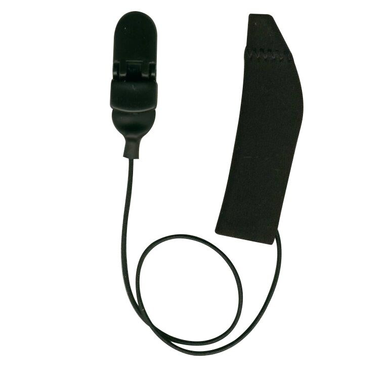 FM System, Monaural (single), with cord, Black