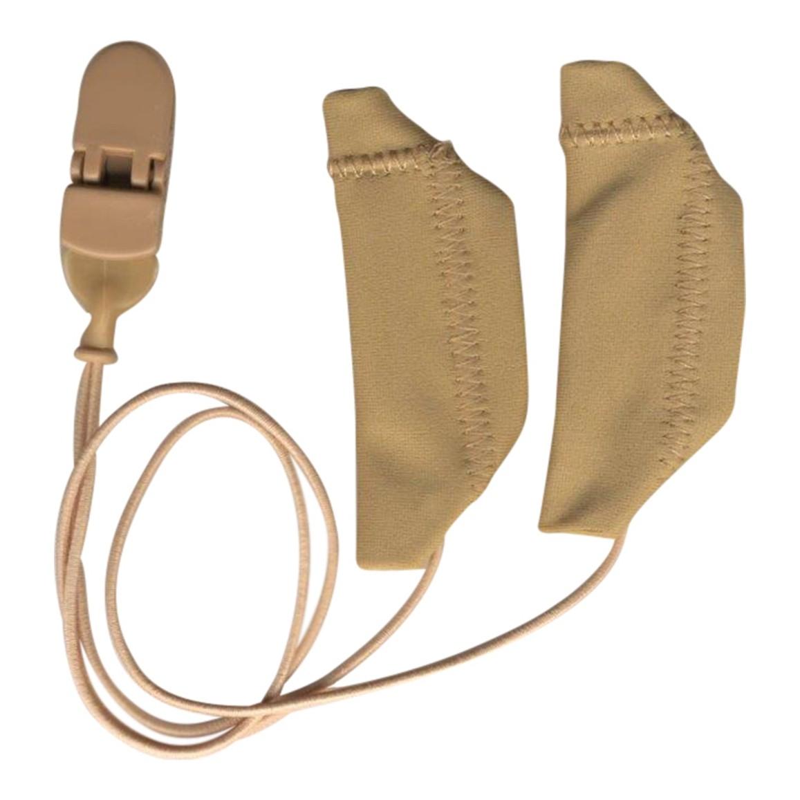 Cochlear, Binaural (dual), with cord, Beige