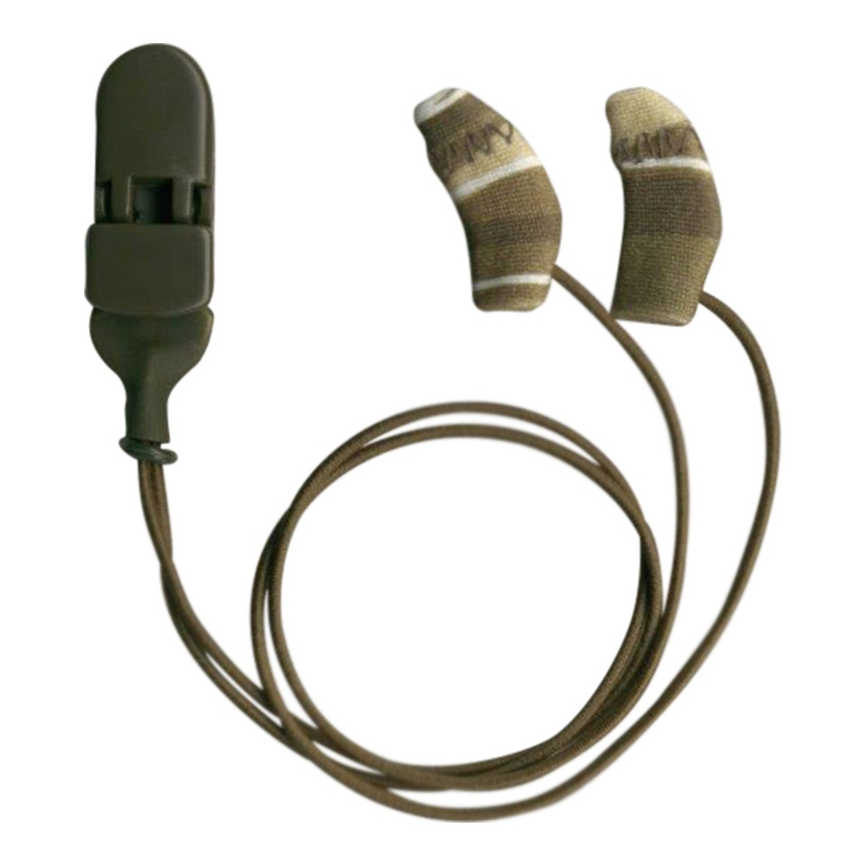 Micro, Binaural (dual), with cord, Camo