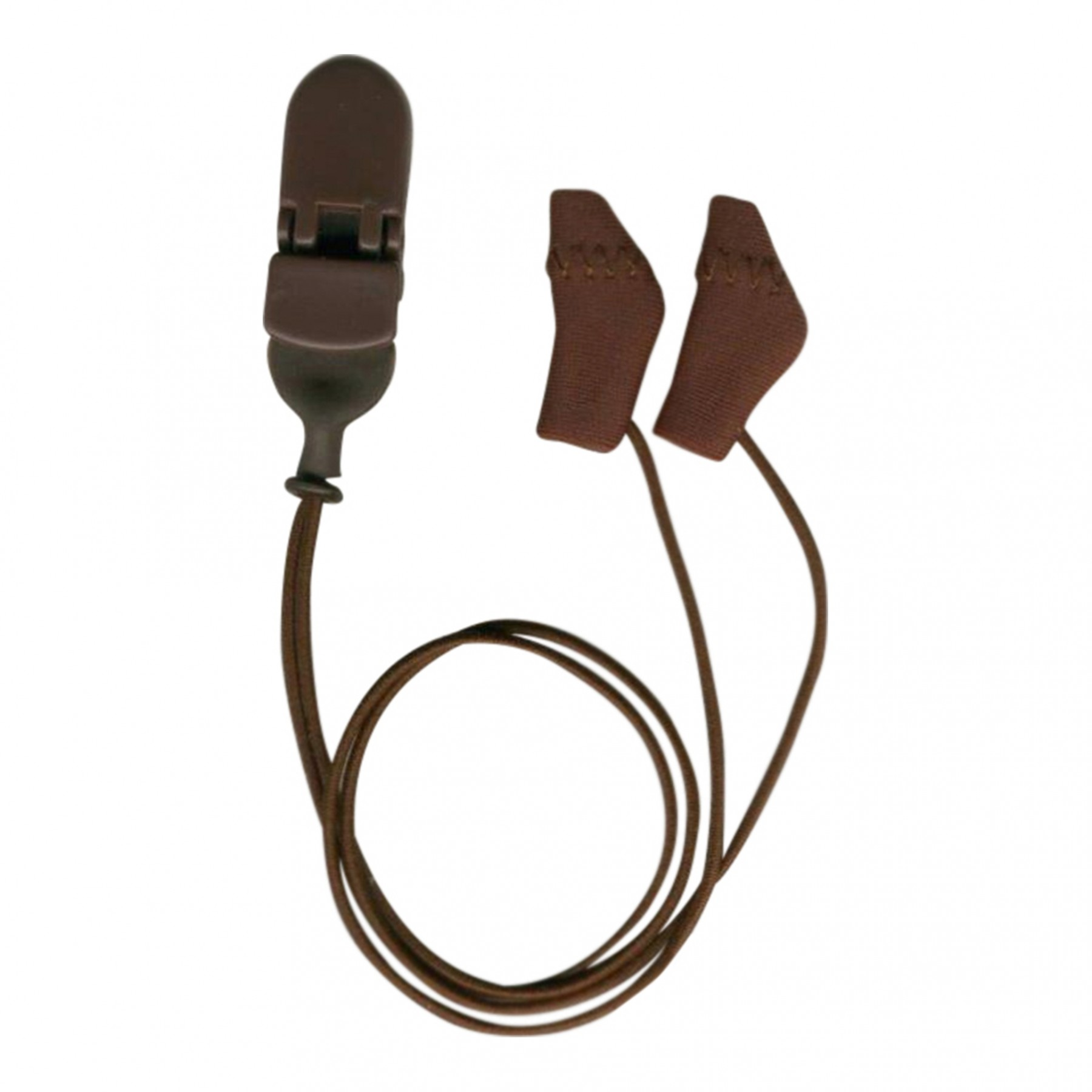Micro,Binaural (dual), with cord, Brown