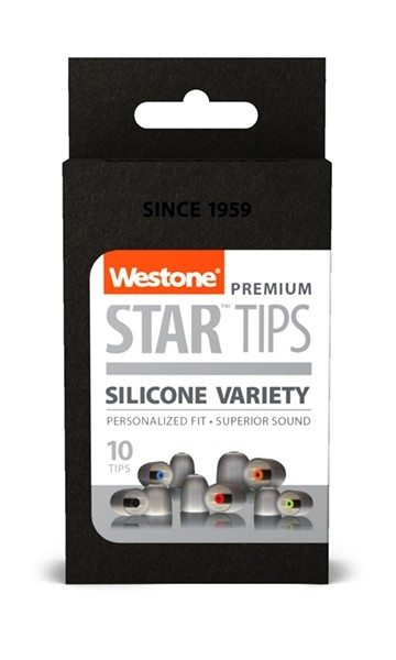 STAR Silicone Tips - Combo Pack box front