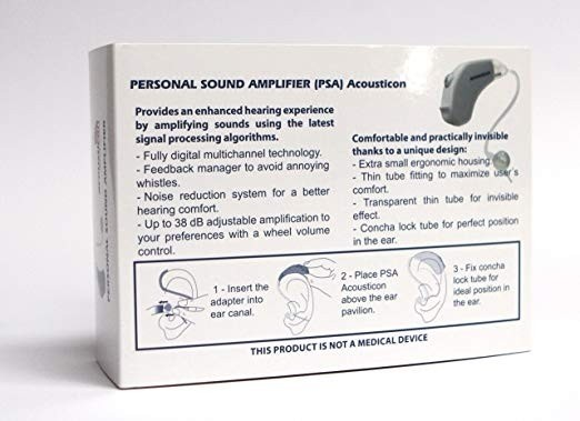 Acousticon Personal Sound Amplification Device