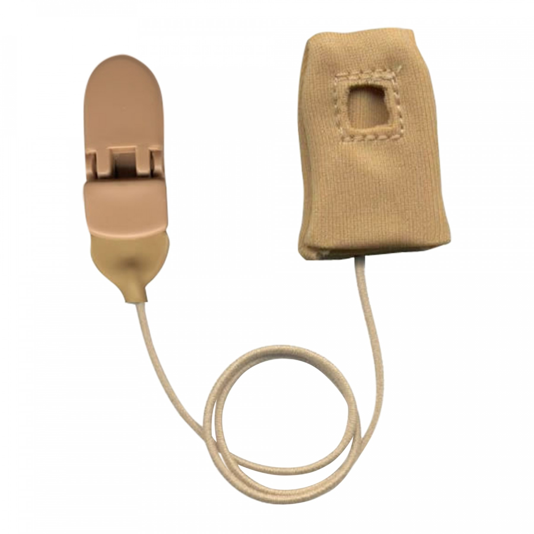 Baha, Monaural with Cord, Beige Inside View