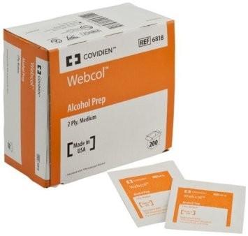 Covidien Webcol - Alcohol Prep Pads