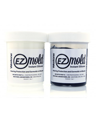 EZ Mold 4oz Tub Set - Black