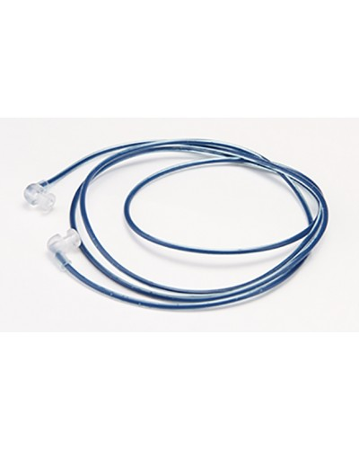 Blue Metal Detectable Plastic Cord with Pop Ends