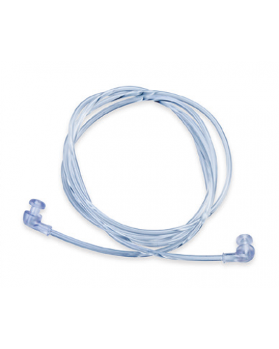 Clear Plastic Cord with Pop Ends