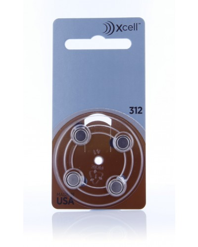 Xcell Batteries by Rayovac Size 312