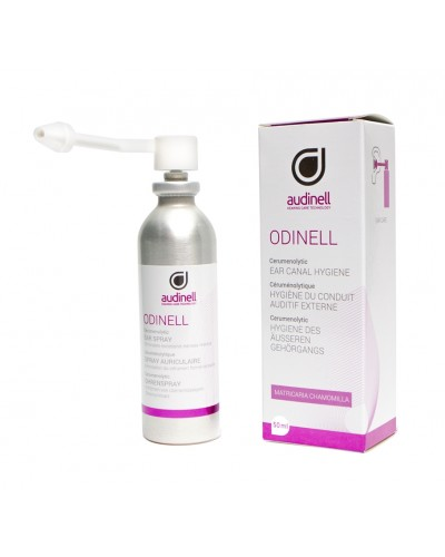 Odinell Ear Spray bottle and box