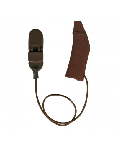 Original, Monaural (single), with cord, Brown