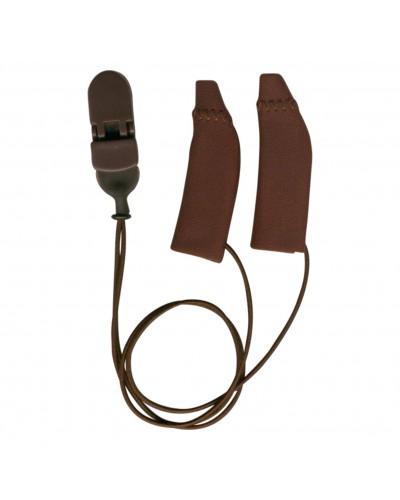 Original, Binaural (dual), with cord, Brown