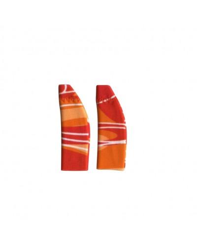 Original, Binaural (dual), without cord, Red/Orange