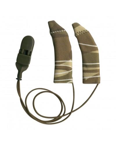 FM System, Binaural (dual), with cord, Camo